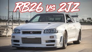 Download RB26 VS 2JZ ″THE LEGENDARY BATTLE!″ R34 VS TESLA BONUS Video
