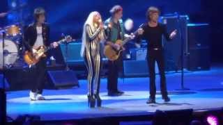 Download Rolling Stones - with Lady Gaga ″Gimme Shelter″ @ Newark, N.J. 15/12/12 Video