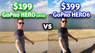 Download $199 GoPro HERO vs $399 HERO 6!! Video