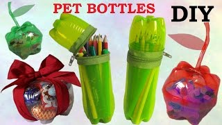 Download 10 DIY Creative Ways to Reuse / Recycle Plastic Bottles part 1 Video
