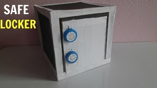 Download How to Make Safe with Combination Lock from Cardboard Video