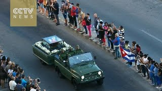 Download Fidel Castro's ashes welcomed in Cuban city Video