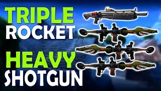 Download TRIPLE ROCKET & HEAVY SHOTGUN | BLITZ MASSACRE - (Fortnite Battle Royale Video