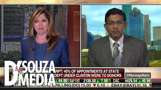 Download Fox Business: D'Souza Tears Apart Clinton Lies Video