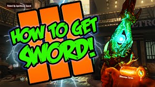 Download Black Ops 3 ″Shadows of Evil″ - HOW TO BUILD THE LIGHTNING SWORD TUTORIAL! (Black Ops 3 Zombies) Video