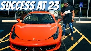 Download Money, Cars, and Business | Finding Success At A Young Age Video