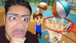 Download MOST INSANE BASKETBALL DUNK EVER 🏀!!! - (Wii Sports Resort) Video