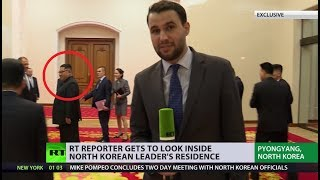 Download RT reporter gets EXCLUSIVE access to Kim Jong-un's residence in N. Korea Video