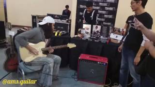 Download Rama Satria testing Widjoyono Guitar with fm pedals and doctor z amplifiers Video