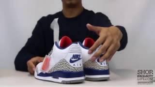 Download Air Jordan 3 Retro OG ″True Blue″ Unboxing Video at Exclucity Video