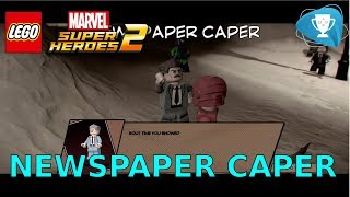Download Lego Marvel Super Heroes 2 - Newspaper Caper - J. Jonah Jameson Video