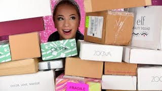 Download UNBOXING PR Packages   New Free Makeup Video
