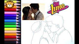 Download Como Dibujar - Soy Luna - Luna y Matteo - Dibujos para niños - Draw and Coloring Book for Kids Video
