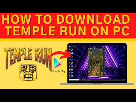 How to Download Temple Run game in PC or Laptop   Windows 10, 8, 7 with Bluestacks 2020