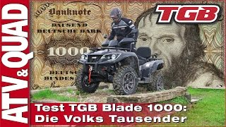 Download TGB Blade 1000 LT V-Twin: Die Volks Tausender Video