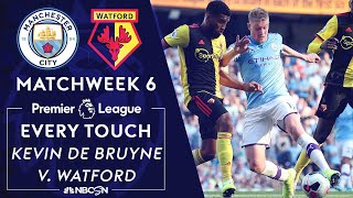 Download Every touch from Kevin De Bruyne's historic performance in 8-0 win v. Watford   NBC Sports Video