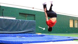Download Me Learning How to Backflip for the first time, and more... Video