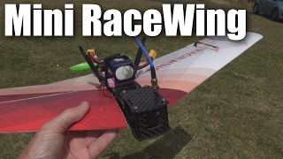 Download Fixed Wing Friday: Mini RaceWing LOS test flight Video