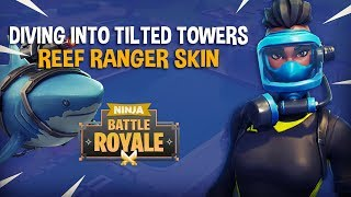 Download Diving Into Tilted Towers With New Reef Ranger Skin!! - Fortnite Battle Royale Gameplay - Ninja Video