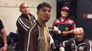 Download Mikey Garcia After Broner Fight Walks Back Into Locker Room - esnews boxing Video