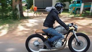 Download Honda SS1 Cafe'racer mono shock Video