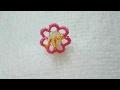 Download İğne oyası Küpeli çiçek modeli Video