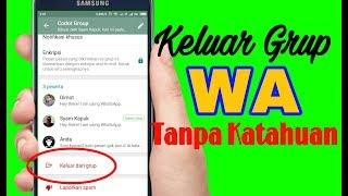 Download Cara Keluar Dari Grup Whatsapp Tanpa Ketahuan Anggota Lain Video