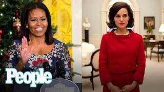 Download Michelle Obama's Last Holiday Decor, Natalie Portman On Jackie Kennedy | People NOW | People Video