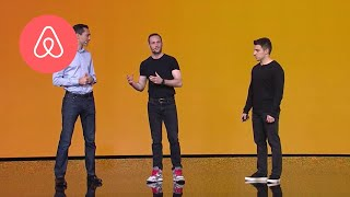 Download Brian Chesky Launches Trips | Airbnb Open 2016 | Airbnb Video