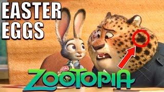 Download 103 Easter Eggs of ZOOTOPIA You Didn't Notice Video