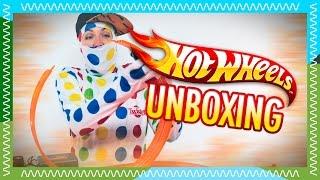 Download HOT WHEELS Challenge 9,15 m automata   Twister Ninja unboxaa! Video