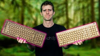 Download $1,400 Wooden Keyboard vs. a $40 one Video