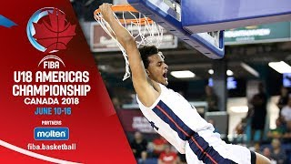 Download USA v Canada - Final - Re-Live (ENG) - FIBA U18 Americas Championship 2018 Video