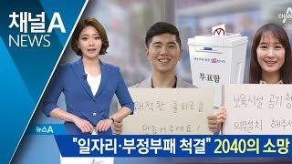 "Download 2040의 소망은 ""일자리 창출·부패척결 원해요"" Video"