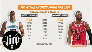 Download Should Dwyane Wade and Dwight Howard be considered Top 100 NBA players? | The Jump | ESPN Video