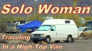 Download Sassy Shows us How She Converted her High-Top Cargo Van Video