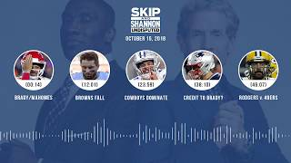Download UNDISPUTED Audio Podcast (10.15.18) with Skip Bayless, Shannon Sharpe & Jenny Taft | UNDISPUTED Video