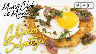 Download Chicken Schnitzel: Meals in Minutes   Masterchef: The Professionals - BBC Video