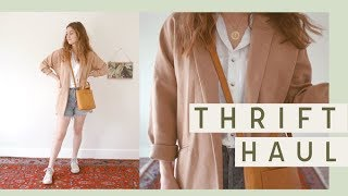 Download Thrift Try On Haul with Outfits for Spring! #Haulternative | Alli Cherry Video