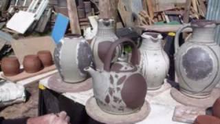 Download Alex McErlain making pots at Hollyford Pottery, Devon Video