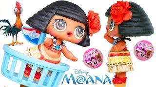 Download Moana Disney DIY Custom Painting Barbie Craft Video + LOL Surprise Baby Punk Boi! Video