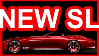 Download PHOTOSHOP New 2019 Mercedes-Benz SL-Class @ Maybach 6 Concept #MERCEDES Video