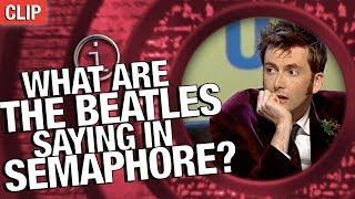 Download QI | What Are The Beatles Saying In Semaphore? Video