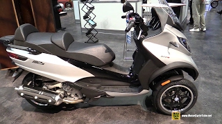 Download 2017 Piaggio MP3 500 ie ABS Scooter - Walkaround - 2016 AIMExpo Orlando Video