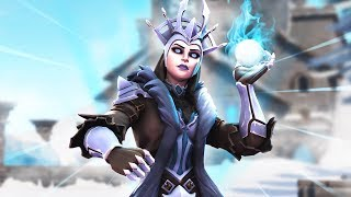 Download NEW Ice Queen Skin! Duo Squads With Myth! Video