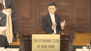Download Jack Ma speaks to the Economic Club of New York Video