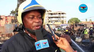 Download Dansoman fire: We responded to situation in time - Ghana National Fire Service Video