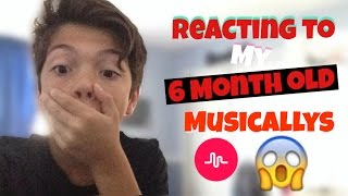 Download Reacting To My 6 Month Old Cringey Musicallys Video