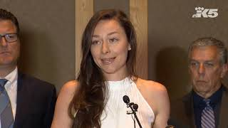 Download EXTENDED: Olympian Kukors announces lawsuit against USA Swimming, alleging sexual abuse cover-up Video