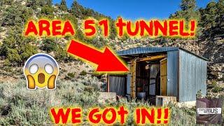 Download AREA 51 MASSIVE CREEPY TUNNEL!! Video